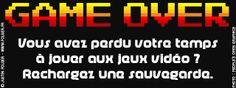 Game over © France Inter - 2013 / Justin Folger.