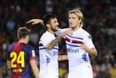 Barcelona 0, Sampdoria 1: El Barça perdió el trofeo Joan Gamper. | Fecha desafortunada.