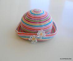Gorro bebé crochet, Niños y bebé, Ropa