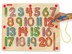 Learn to Write! Magnetic Number Board
