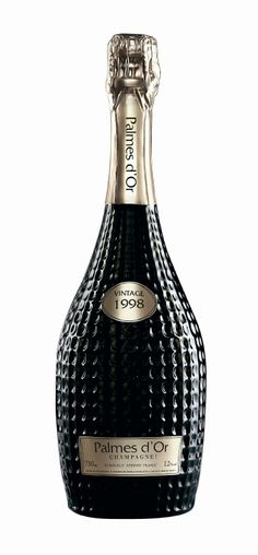 Palmes d'Or Champagne. Simply lovely #packaging #HappyNewYear PD