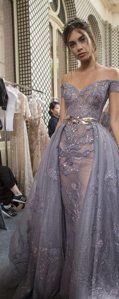 Zuhair Murad Fall-winter 2017-2018 - Couture - http://www.orientpalms.com/Zuhair-Murad-6841 - ©ImaxTree