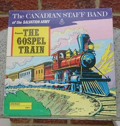 The Canadian Staff Band Of The Salvation Army The Gospel Train vinyl LP Release date 1952 Rare Steam Train cover art by bastarduk on Etsy Release Date, Mtv, Cover Art, Art Photography, Army, Train, Band, Products, Gi Joe