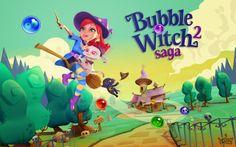 Buble Witch Saga 2 para Android, iPhone e iPad, vuelven los creadores de Candy Crush Saga
