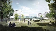 KAMJZ architects CAP group HQ milan designboom