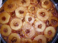 e-Συνταγόκοσμος: Αναποδογυριστή Μηλόπιτα Pineapple, Peach, Candy, Fruit, Food, Pine Apple, Essen, Peaches, Meals