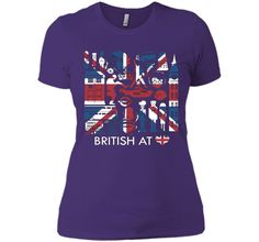 British @ Heart tshirt