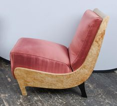 Slipper Chairs Attributed to Guglielmo Ulrich ca.1940's