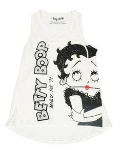 Sadie Jane Dancewear - Betty Boop Tank with Rhinestone Embellishments, $20.00 (http://www.sadiejane.com/betty-boop-tank-with-rhinestone-embellishments/)