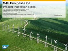 41 SAP Business One Innovation Success Stories Time Magazine, Alternative Energy, Mobile Application, Job Search, Hana, Your Life, You Changed, Wind Turbine, Innovation