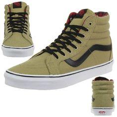 VANS Sk8-Hi Reissue Unisex-Erwachsene Sneaker V3CAIKT beige in Kleidung & Accessoires, Herrenschuhe, Turnschuhe & Sneaker | eBay