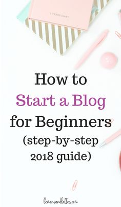 Wanting to start your own mom blog or lifestyle blog? Read the how to start a blog for beginners step-by-step guide and start your new blog in just 4 simple steps!