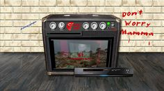 When toggled to video the amp activates the DVD Player and LCD Screen. The DVD Player features realistic controls, a drop down selection box, a counter, a working power button and lights. The LCD Screen emerges from the grill cloth to display the video selection.
