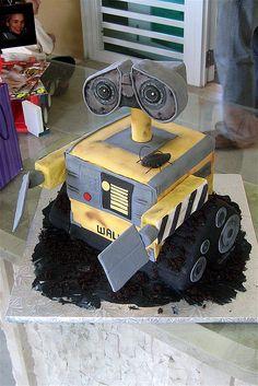 Wall-E Cake by Sugar Diva,