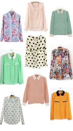 JSYK: Pretty Spring Blouses for $13 or Less | http://prettylifeanonymous.blogspot.com/