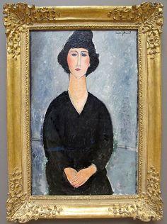 File:Amedeo modigliani, donna in nero, 1917 ca..JPG