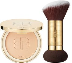 Confidence Creamy Powder Foundation from tarte is a velvety, full-coverage perfecting powder foundation with the perfect application tool. QVC.com