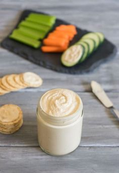 A simple. flavorful cashew cheese that you can use in a million different recipes.