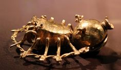 Chiriqui pendant in the form of a spider. Costa rica 1000 - 1500