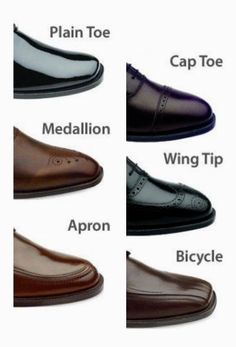 Need to know: Simple Guide to Dress Shoe Styles! More Fashion Tips @  rickysturn