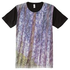 Shop Forest photo drawing effect All-Over-Print T-Shirt created by ZierNorShirt. Personalize it with photos & text or purchase as is! Types Of T Shirts, Stylish Shirts, S Shirt, Funny Tshirts, Printed Shirts, Short Sleeve Dresses, Drawings, How To Wear, Cotton
