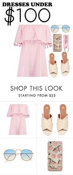 """Dresses Under $100"" by darling-ange1 ❤ liked on Polyvore featuring Boohoo, Various Projects and under100"