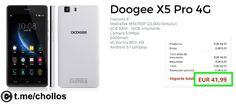 Smartphone Doogee X5 PRO 4G por sólo 42 - http://ift.tt/2s1pkeK