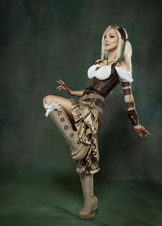 What The Hell Is Steampunk! Kato Steampunk, Steampunk Couture, Steampunk Dress, Steampunk Cosplay, Steampunk Clothing, Steampunk Fashion, Gothic Fashion, Style Fashion, Steampunk Design