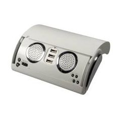 Get your business booming with this protable speaker! A great spot to put your logo that everyone will be noticing.