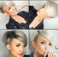 23 Most Badass Shaved Hairstyles for Women | StayGlam ...