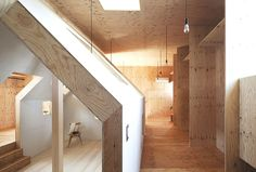 Modern Japanese Interior Wooden Hallway The Ant House