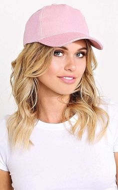 #FashionVault #styles for less #Women #Accessories - Check this : Glitter Baseball Cap - N/S - Pink by Styles For Less for $9.99 USD