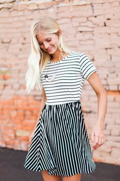 Twirl! Skater dress by Choies