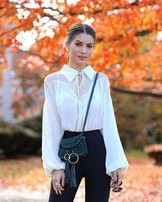Look: An Autumn Afternoon Super Vaidosa Look: Ein Herbstnachmittag - Super Vaidosa Classy Outfits, Stylish Outfits, Fashion Outfits, Womens Fashion, Fashion Trends, Moda Fashion, Look Camila Coelho, Casual Chic, Look Zara