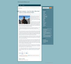 David Contarino Interviews and News