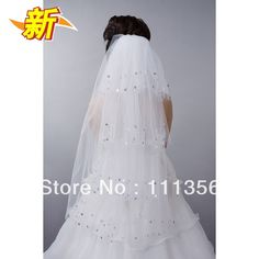 Paillette long veil fashion multi-layer veil the bride wedding dress veil hair accessory on AliExpress.com. 5% off $21.84