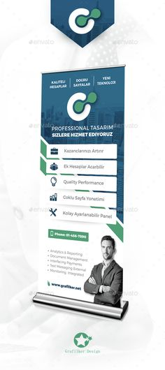 Corporate Roll-Up Template PSD, INDD. Download here: http://graphicriver.net/item/corporate-rollup-templates/15430311?ref=ksioks