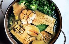 rich and versatile Parmesan broth for vegetable soup, instant-supper pasta and beans in need of a boost.