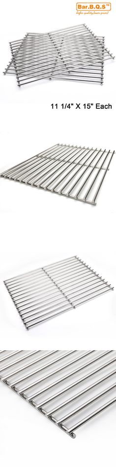 BBQ Tools and Accessories 20725: Weber Bbq Replacement Stainless Steel Cooking Grill Grid Grate Sg7521 7523 9855 -> BUY IT NOW ONLY: $31.99 on eBay!