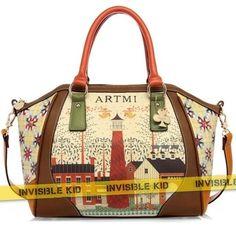 """Сумка с принтом маяк """"Art"""" (Ar02)  #сумка #мода #bag #купить"""