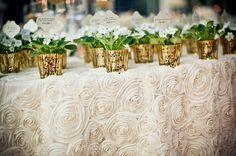 Ivory Rosette Tablecloths, White Rosette, Tablecloths, Rosette Toppers, Overlays, Winter Wedding, White Wedding, Christmas