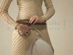 "Ioanna Kourbela - Athens Her Fantastic Cardigan ""25 50"" - YouTube ... Cardiagan transformer ... awesome..."