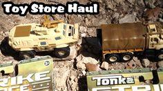 Toy Haul - Tonka STRIKE FORCE Metal