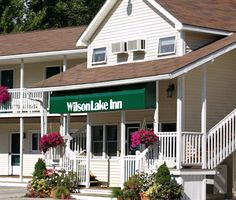 Wilson Lake Inn  - A peaceful, secluded setting awaits you at Wilson Lake Inn. Experience the scenic beauty which surrounds the inn nestled in the foothills of western Maine on the shore of beautiful Wilson Lake.