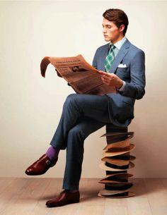 #lesdoitmagazine #hombres #chicos #estilo #streetstyle #man #men #style #newspaper #english #gentelman