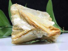 Golden Muscovite Mica Crystal Cluster, Rare Georgetown Maine Mineral Specimen US | eBay
