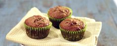 These delicious muffins are a healthy treat any time of day!