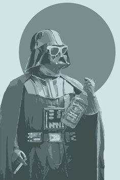 Darth Vader, Californication Style, Star Wars Art, Pop Art.