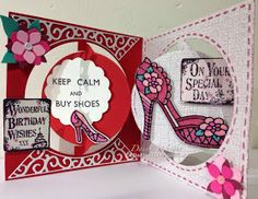 Old Red Shed: Happy birthday circle album card...