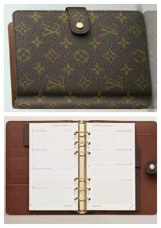 Louis Vuitton MM Agenda finally purchased my dream planner!!!